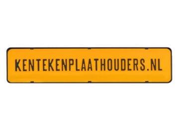 Kentekenplaathouder zonder tekstrand serie 1 - Kentekenplaathouders.nl