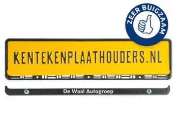PP met losse strip kentekenplaathouders.nl