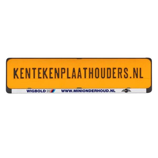 Clipper Kentekenplaathouder Bedrukken - Kentekenplaathouders.nl