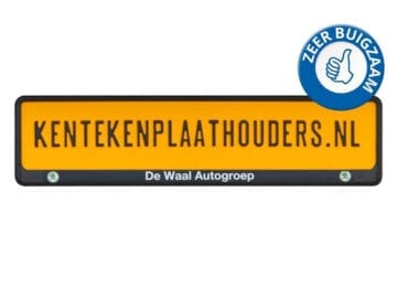 Kentekenplaathouder met losse strip Bedrukken - Kentekenplaathouders.nl