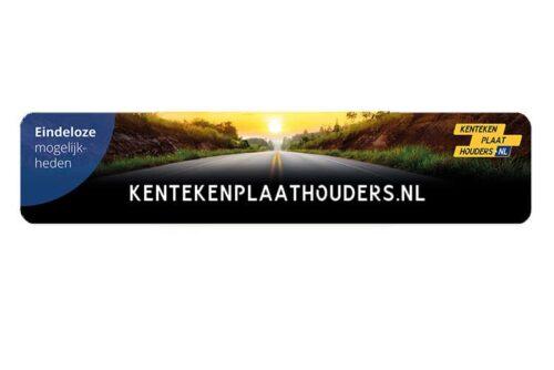 showroomplaat kentekenplaathouders.nl