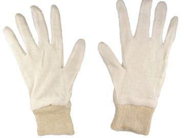 Werkhandschoen gebreid