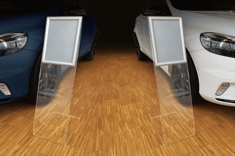Showroomdisplay standaard 90 cm