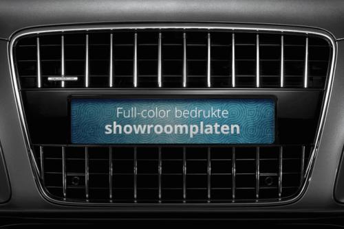 Showroom platen (inlegborden)