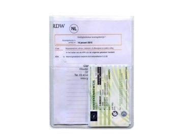 U-mapje creditcard