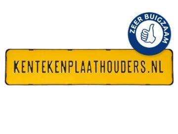 Kentekenplaathouder polyprop zonder tekstrand - kentekenplaathouders.nl
