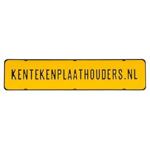 Kentekenplaathouder zonder tekstrand serie 2 - kentekenplaathouders.nl