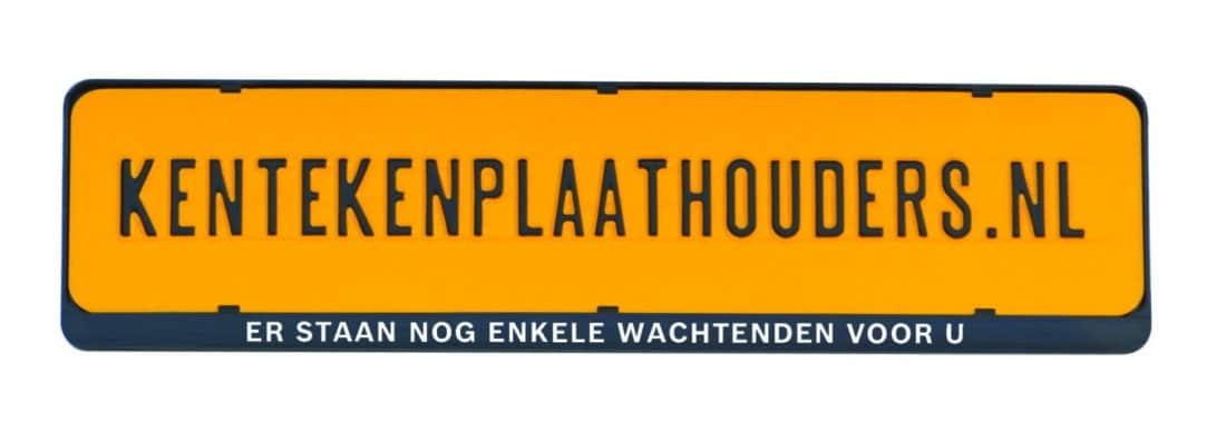 Er staan nog enkele wachtenden voor ugrappige kentekenplaathouder - Kentekenplaathouders.nl